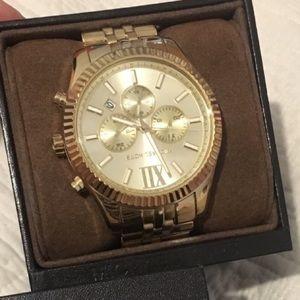 MICHAEL Kors Chronograph Lexington Gold-Tone watch